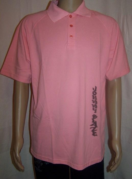 Hip hop tričko JOHNNY BLAZE růžové 935f0f28325