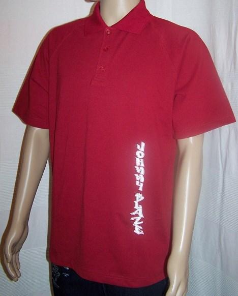 Hip hop tričko červené JOHNNY BLAZE 4bc4b1e307a