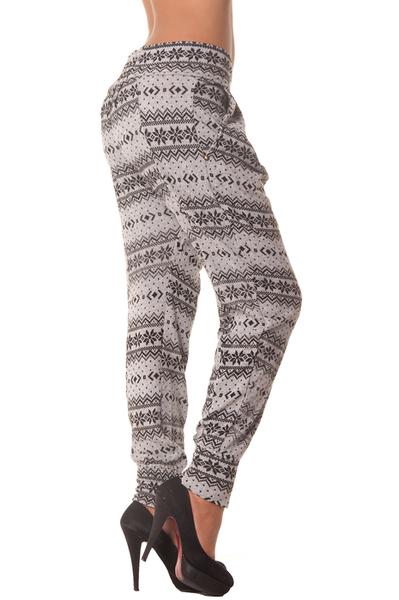 e046a525c31a Dámské harém kalhoty grey